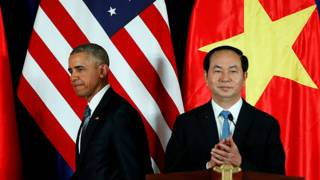 Президенты США и Вьетнама