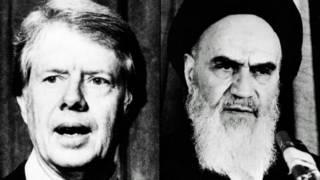 آیت اللہ خمینی اور امریکی صدر جمی کارٹر