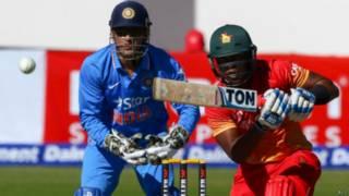 भारत-ज़िम्बावे मैच.