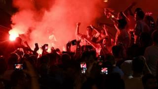 Фанаты сборной Англии в Марселе