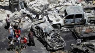 Harin bam a nirnin Damascus
