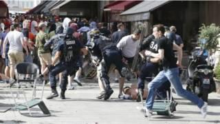 फ्रांस में हिंसा