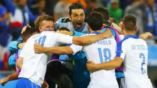 Игроки сборной Италии