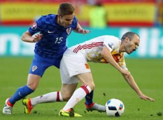 хорватія-іспанія матч