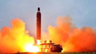 उत्तर कोरिया का मिसाइल (फ़ाइल फ़ोटो)
