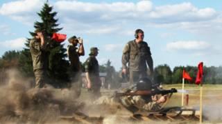 Нацгвардія проводить змагання гранатометників
