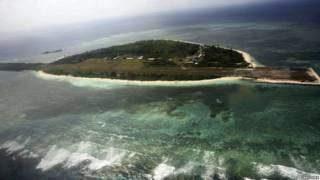 菲律賓控制的的中業島(菲律賓稱帕加薩島 Pagasa Island)
