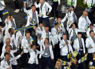 Украинская делегация на Олимпиаде в Лондоне, 2012 год