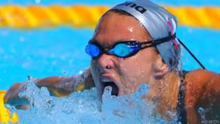 रूसी तैराक याना मार्तिनोवा की फाइल फोटो