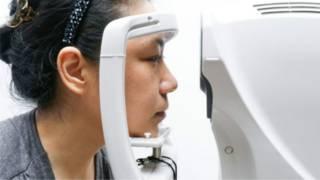 اختبار للعين