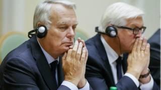 міністри закордонних справ Франції та Німеччини в Києві