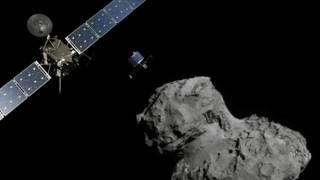 Phi thuyền Rosetta và sao chổi