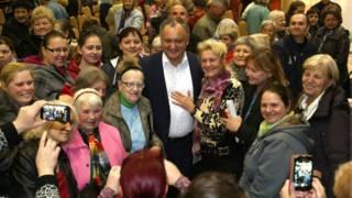 Игорь Додон получил 48,72% в первом туре выборов