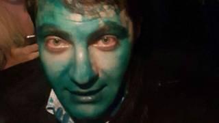 Сакварелідзе в Харкові облили зеленкою - Саакашвілі