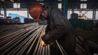 今年早些時候,中國大量出口鋼材導致中美之間發生貿易糾紛。