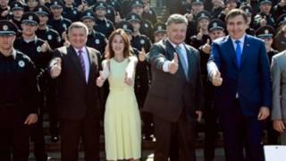 Запуск патрульной полиции в Одессе еще до ссор и отставок
