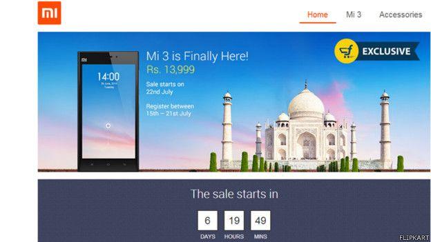 Xiaomi en India