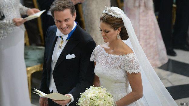 Свадьба принцессы Швеции