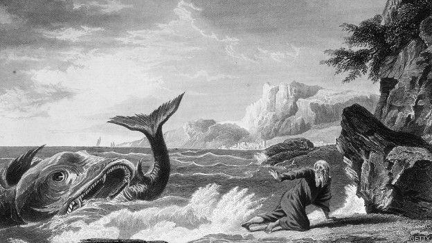Ilustración de la historia de Jonás