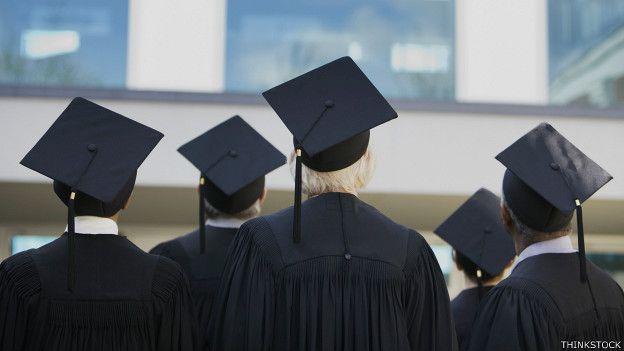 Graduandos universitarios