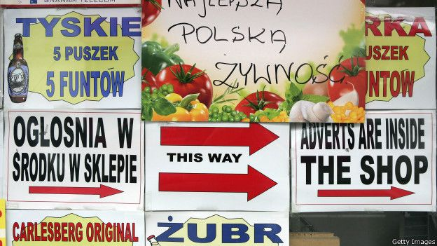 Реклама польских магазинов