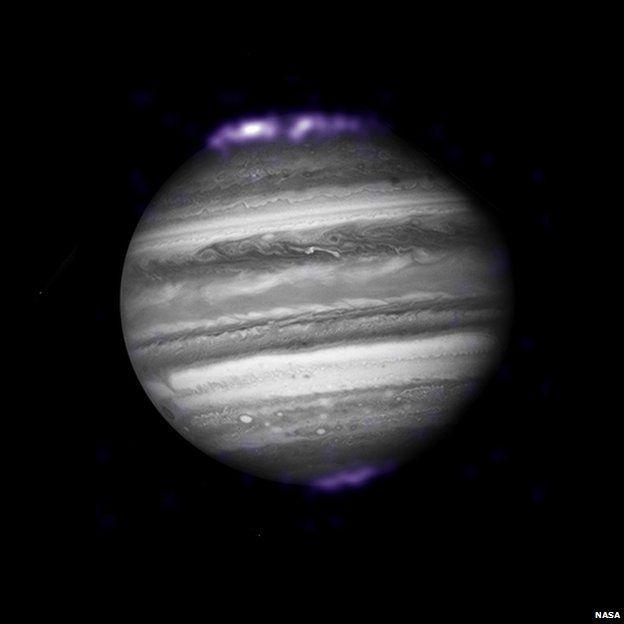 Aurora en Júpiter
