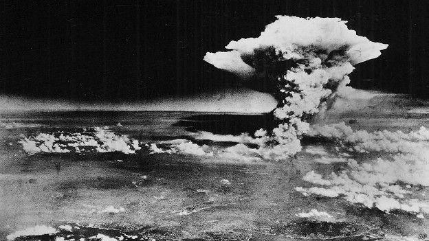 Explosión atómica sobre Hiroshima