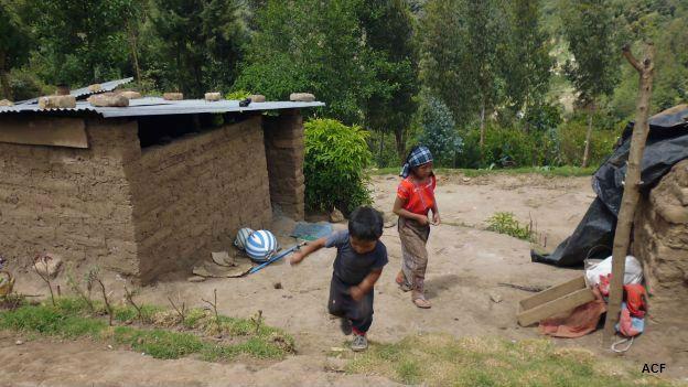 Casa en el corredor seco de Guatemala. Foto: cortesía Acción contra el Hambre