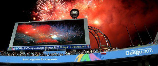 Campeonato Mundial de Atletismo de Daegu, Corea del Sur