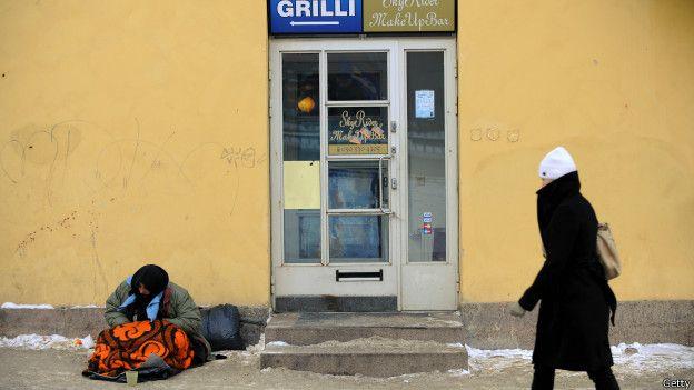Desempleo en la calle