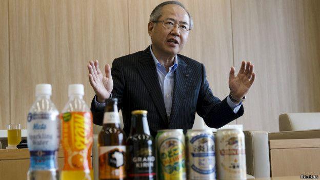 Presidente de la cervecera Kirin