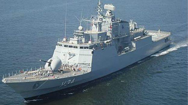 Corveta Barroso (Foto: Marinha do Brasil)
