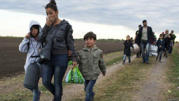 Brasil recibió a más 2.000 refugiados sirios.