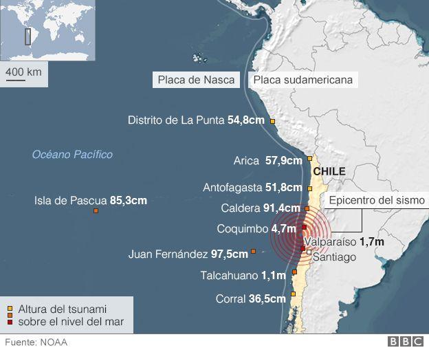 Por qu hay tantos terremotos en Chile  BBC Mundo