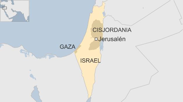 Palestina Mapa