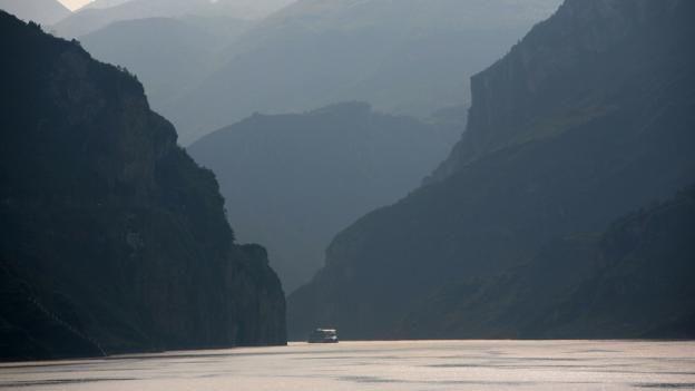 Un río en China