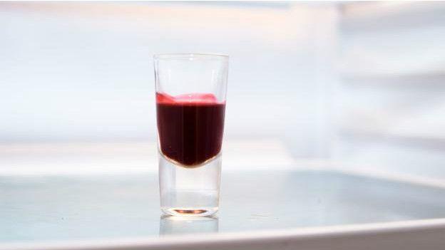 Un vaso de sangre