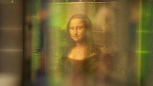 retrato escondido bajo la Mona Lisa -2