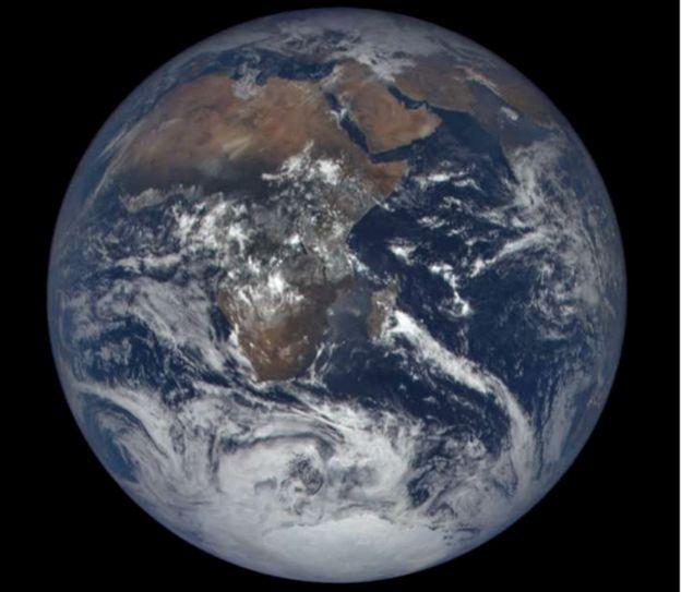 El satlite de la NASA que capt un eclipse lunar desde el espacio