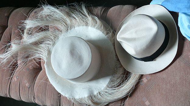 Sombreros de paja toquilla