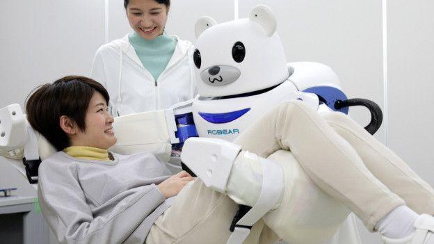 Robot de cuidado en Japón