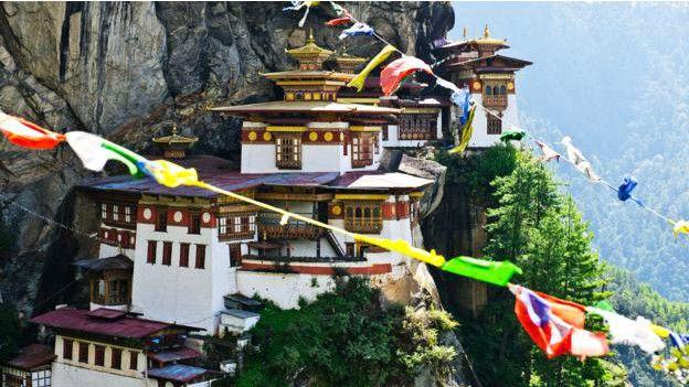 Guarida del Tigre en Paro, Bután