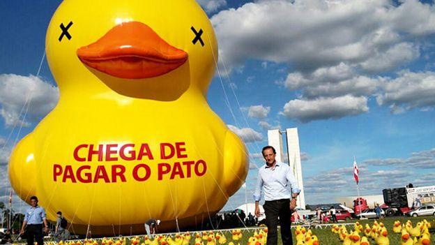 Resultado de imagem para PATO NA FIESP