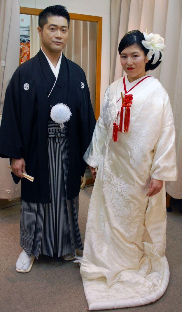 Cô dâu chú rể Nhật Bản
