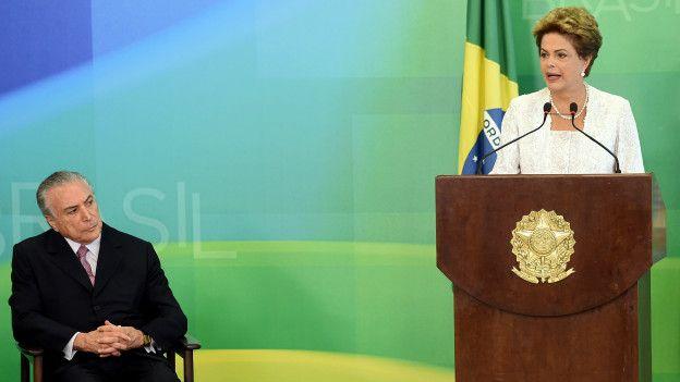 Dilma y Temer