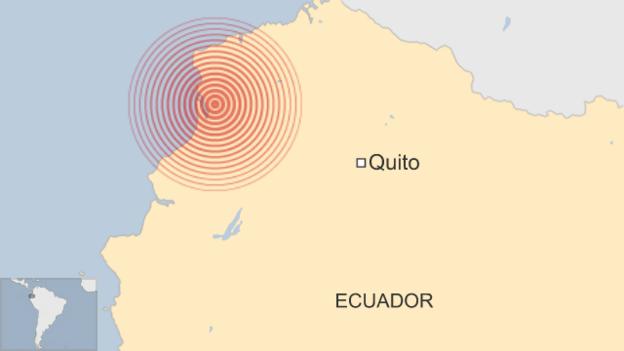 Segundo sismo de magnitud 68 sacude Ecuador en menos de 24 horas