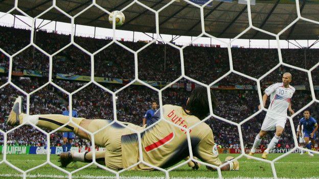 Penalty en la final de Alemania 2006