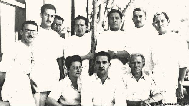 Jacinto Convit y el equipo medico