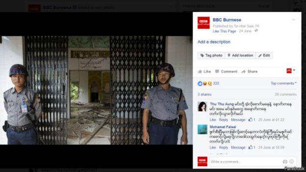 facebook bbc burma