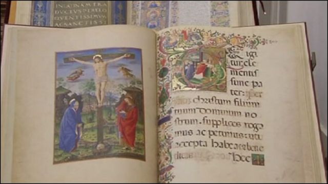 Библия XIII века из коллекции Ватиканской библиотеки